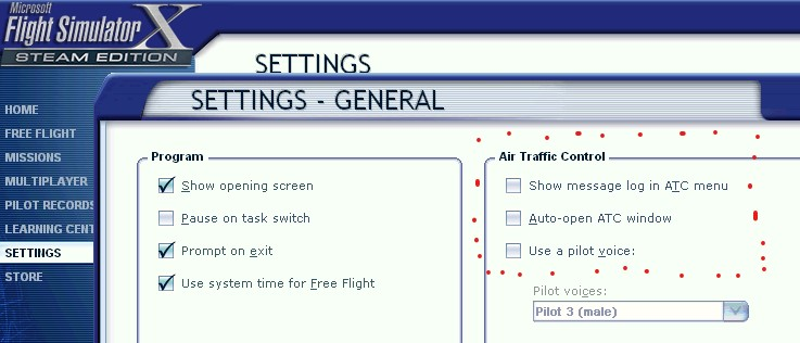 Setup interactive ATC on FSX | SimuCheck